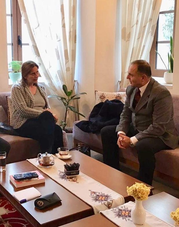 Takim me Ambasadoren e Greqisë në Tiranë znj. Sophia Philippidou