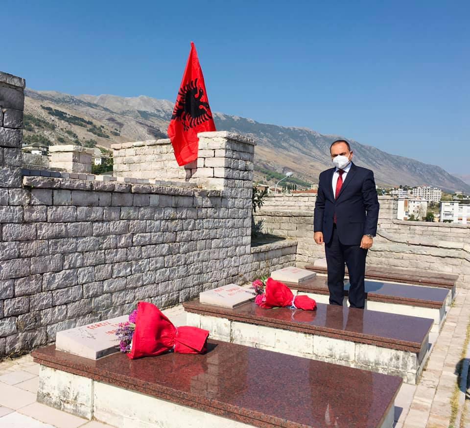 Ceremonia pёrkujtimore e 140-vjetorit të lindjes dhe 105-vjetorit të vrasjes së Heroit të Popullit Çerçiz Topulli