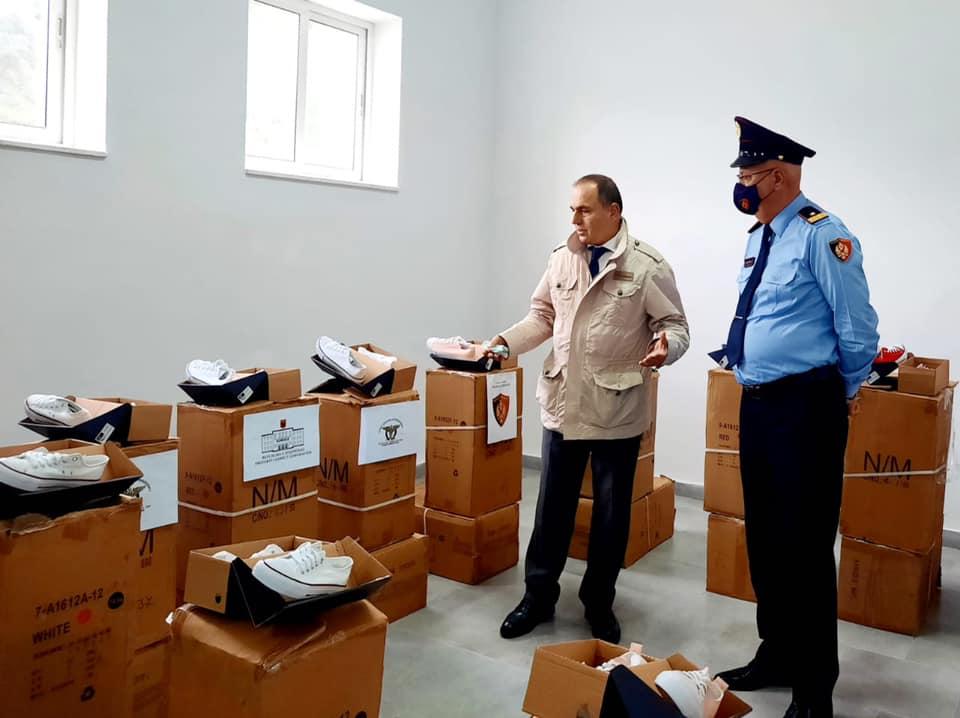 Donacion për fëmijët e policëve të Drejtorisë së Përgjithshme të Policisë së Shtetit