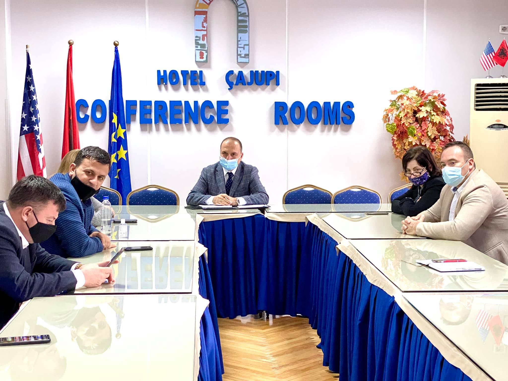 Takimi i Organit Këshillues të Prefektit të qarkut