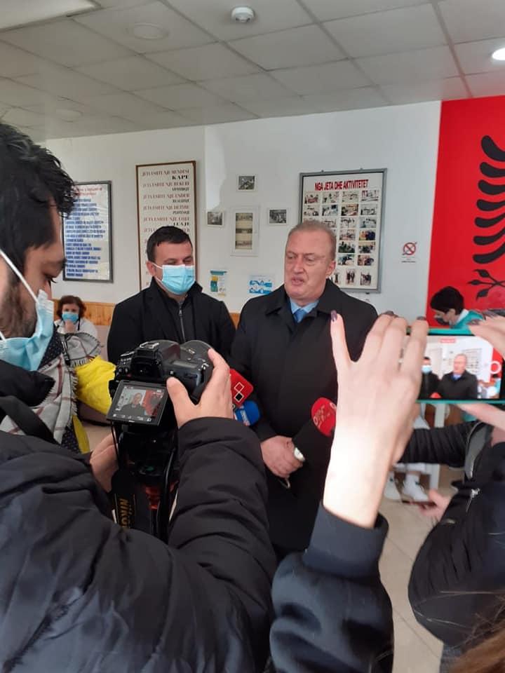 Nisja e vaksinimit në Qarkun Gjirokastër