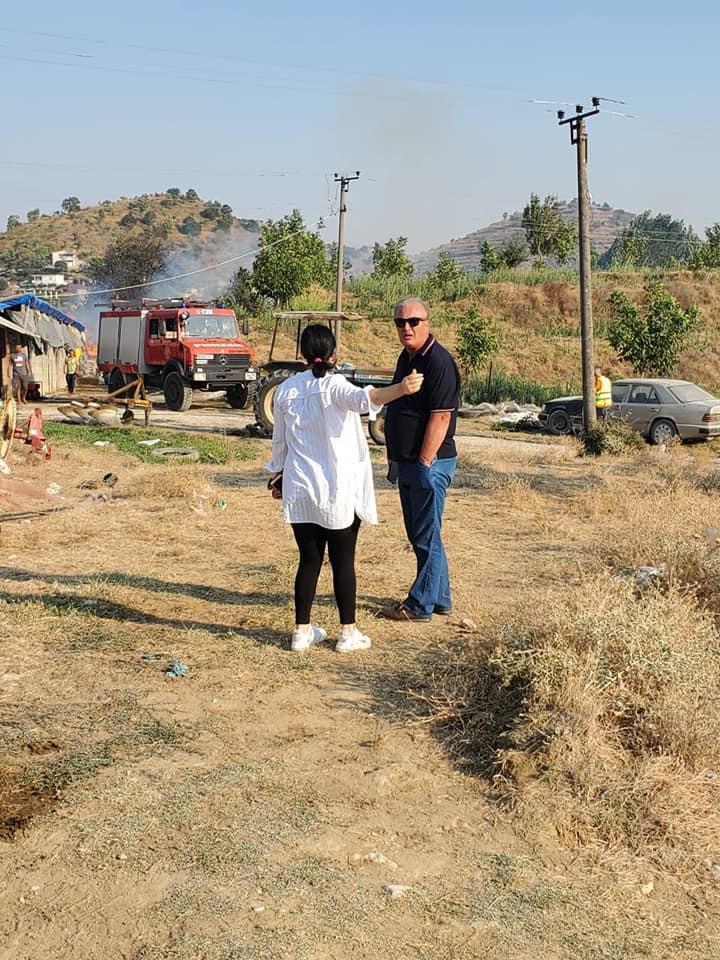 Situatë e pazakontë zjarresh në Qarkun Gjirokastër